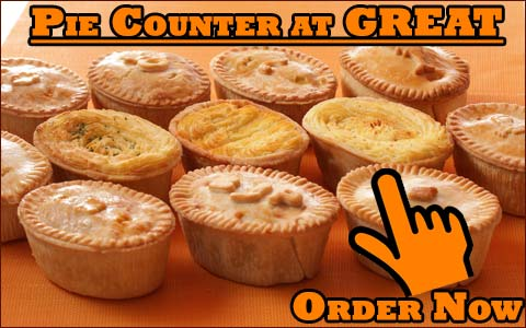 Order from the Pie Counter @ GREAT