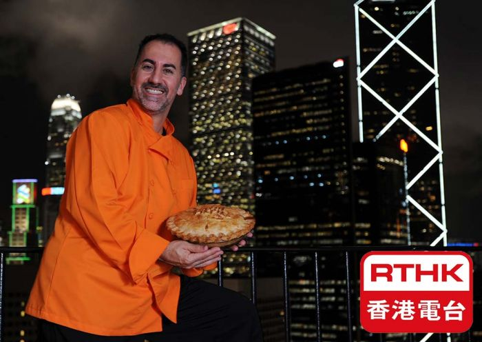 Chef R.J. Asher's appearances on RTHK & YouTube